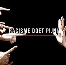 Racisme doet pijn!