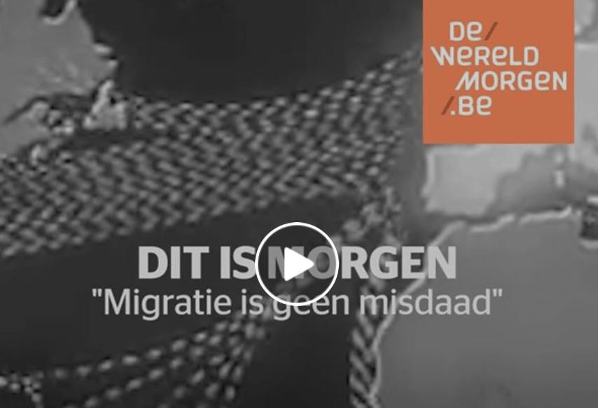 """""""Migratie is geen misdaad"""""""