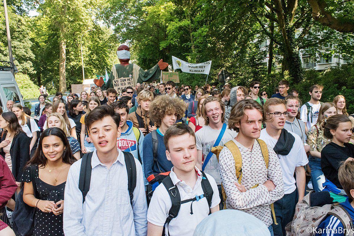 Antwerpen: Laatste klimaatmars voor de verkiezingen