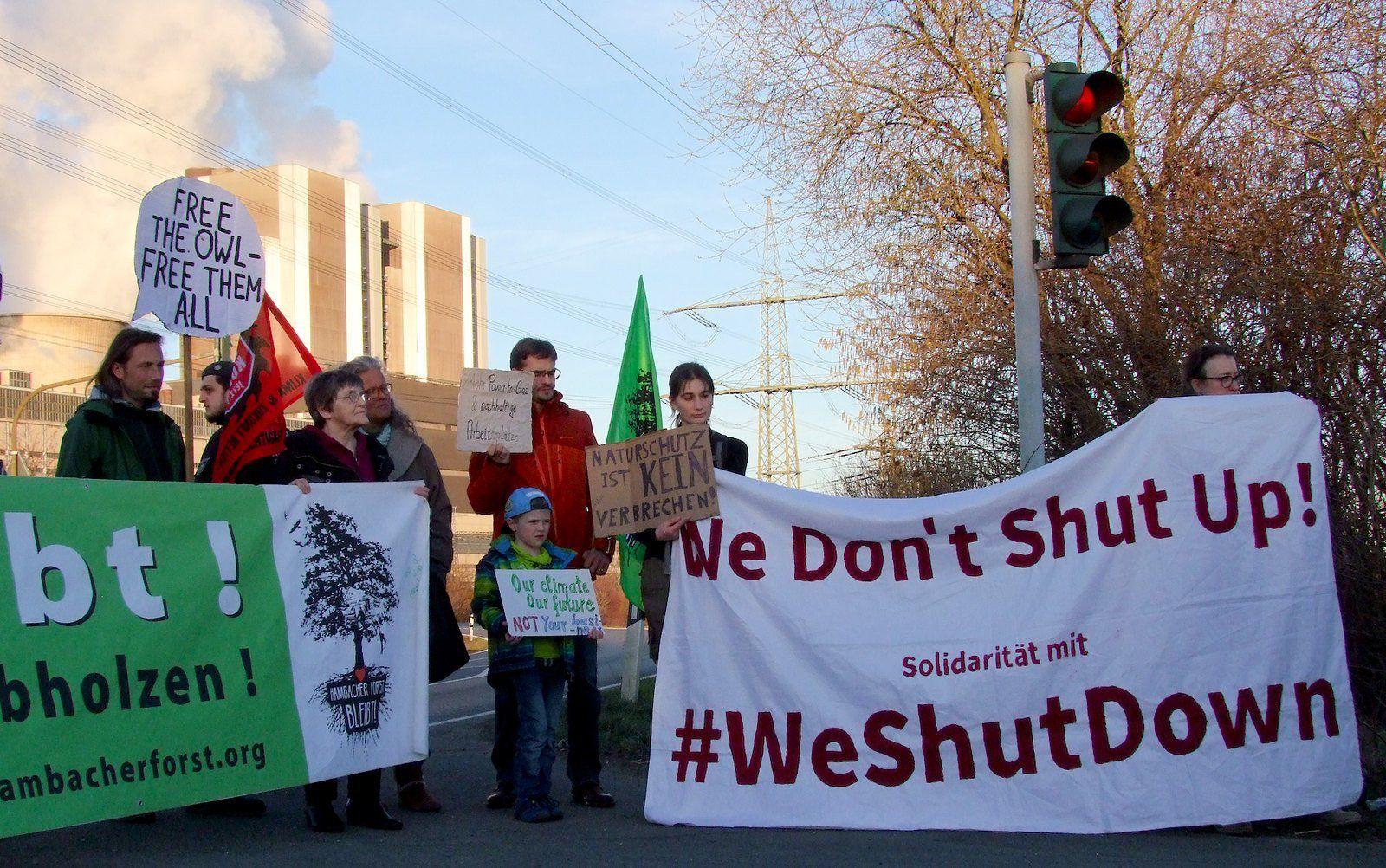 Duitse energiebedrijf RWE eist 2,07 miljoen euro schadevergoeding van klimaatactivisten