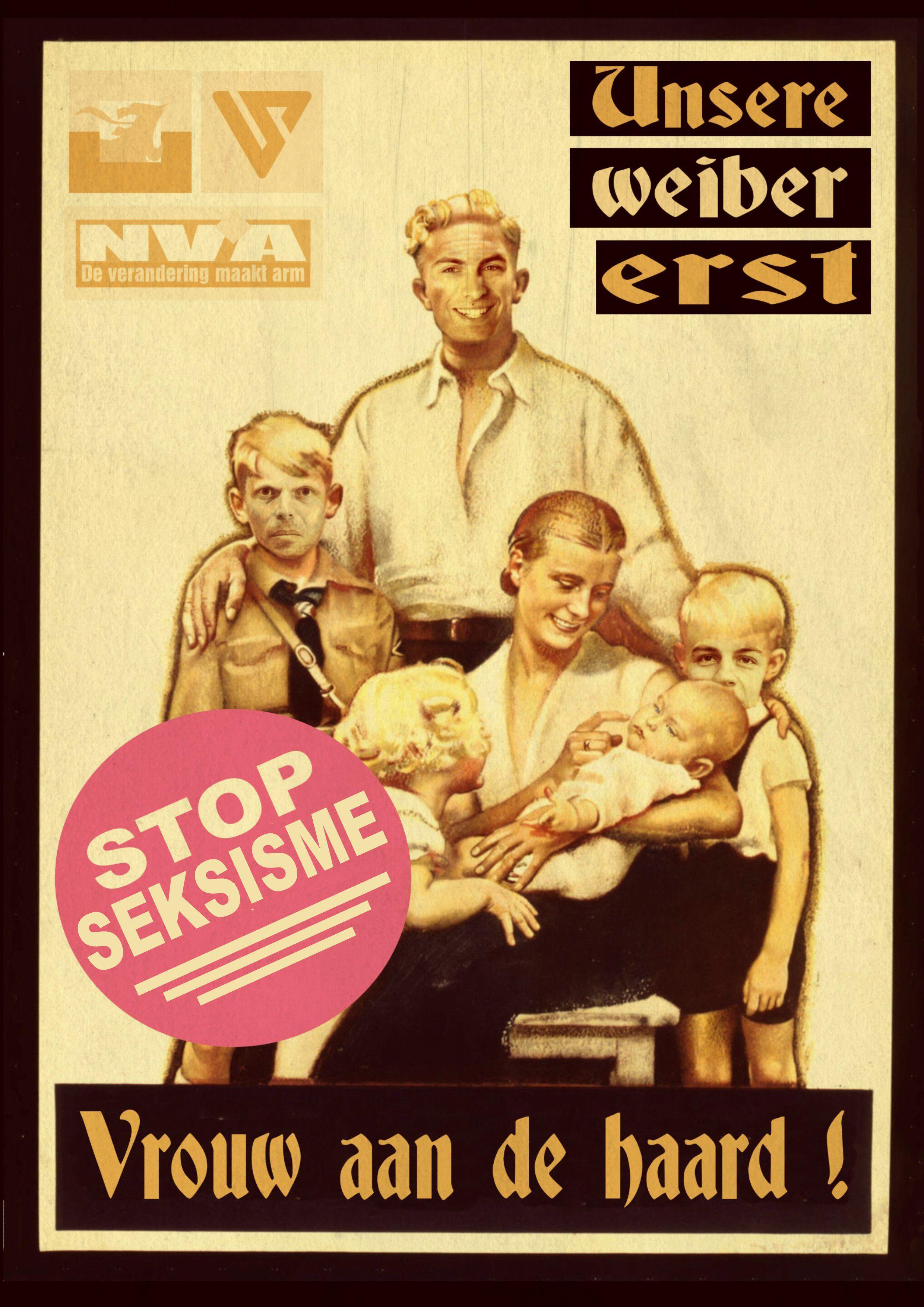 VB en N-VA : conservatisme, (verdoken) racisme, xenofobie en seksisme.