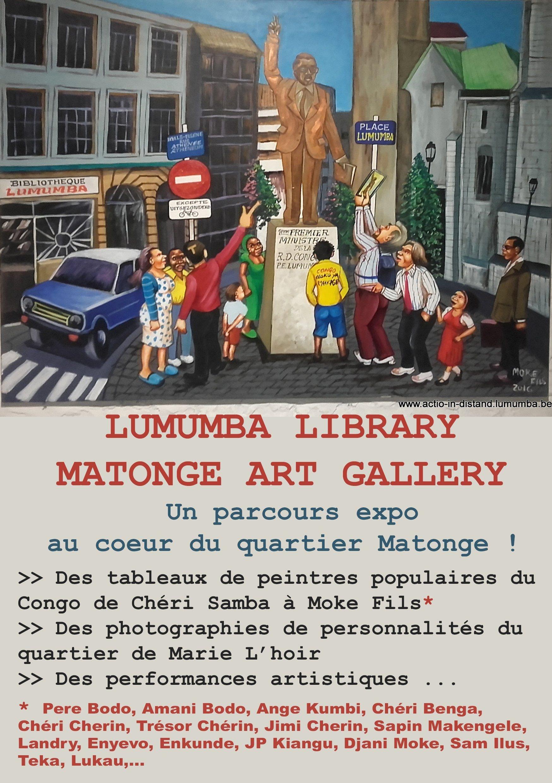 Parcours van hedendaagse Congolese schilderkunst in Matongé (Brussel)