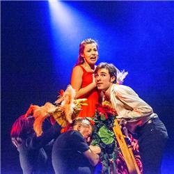 ROMEO & JULIA Een ontroerende theaterproductie van Theater van A tot Z