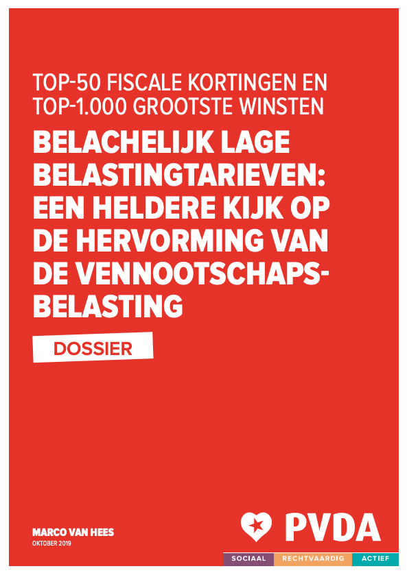 Foto cover Rapport: pvda.be