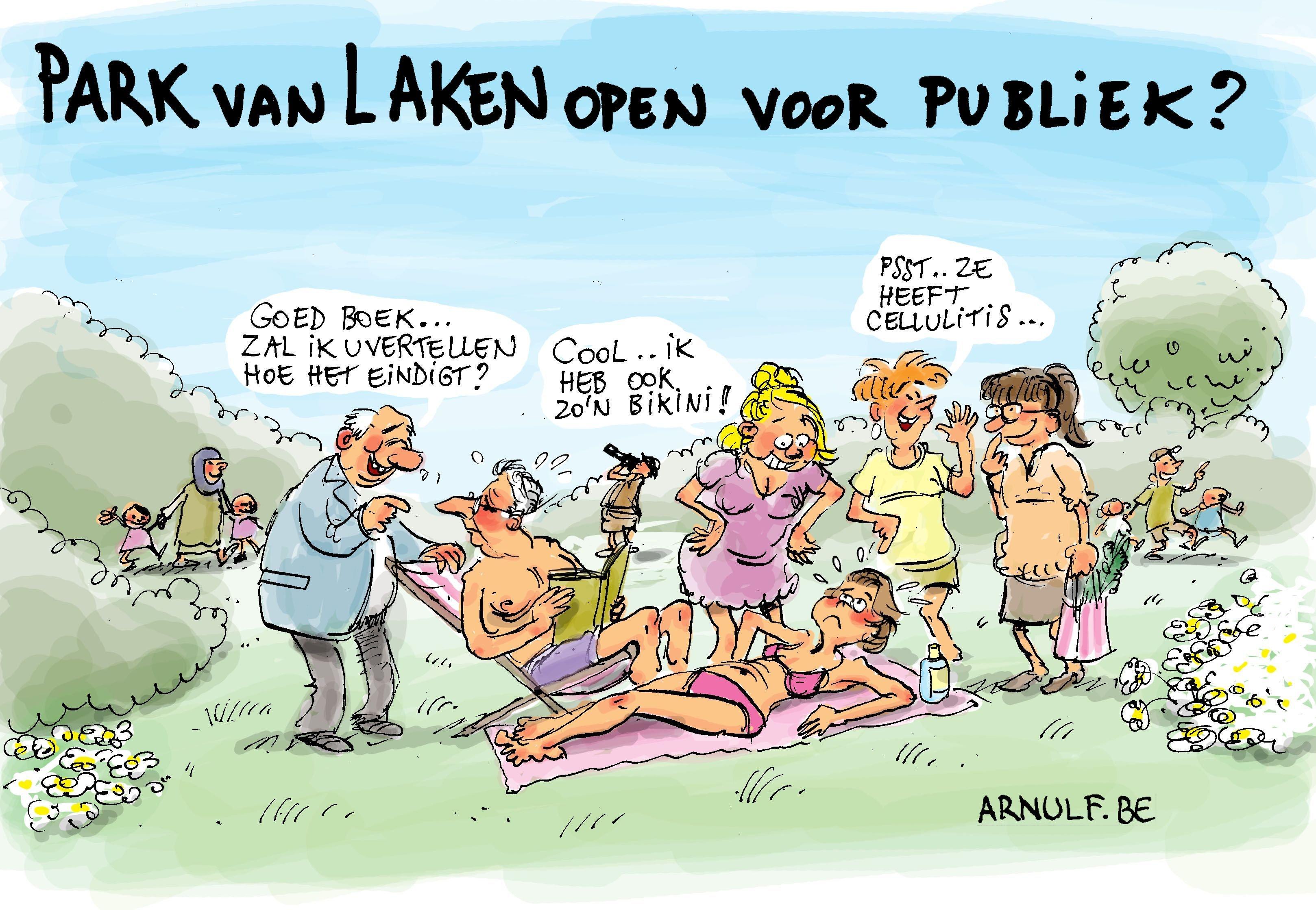 Park van Laken open?