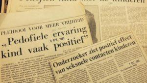 Krantenartikel 1981 'pedofiele ervaring positief'