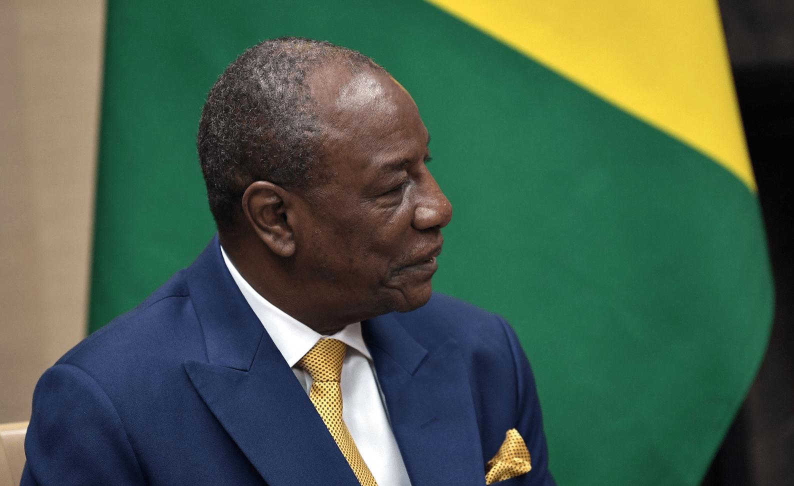 Alpha Condé, president van Guinee