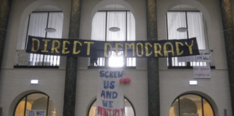 Maagdenhuisbezetting, bezetting van een gebouw van de Universiteit van Amsterdam.