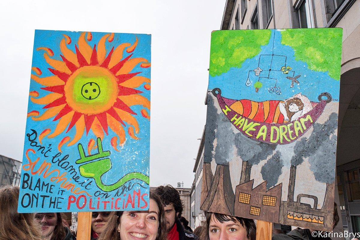 Climate Strike.