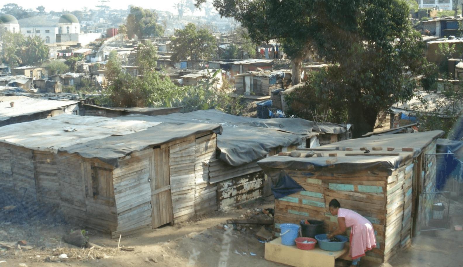 Armoede in Zuid-Amerika.