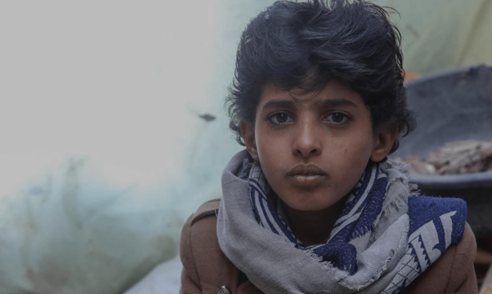 Kind uit Jemen.