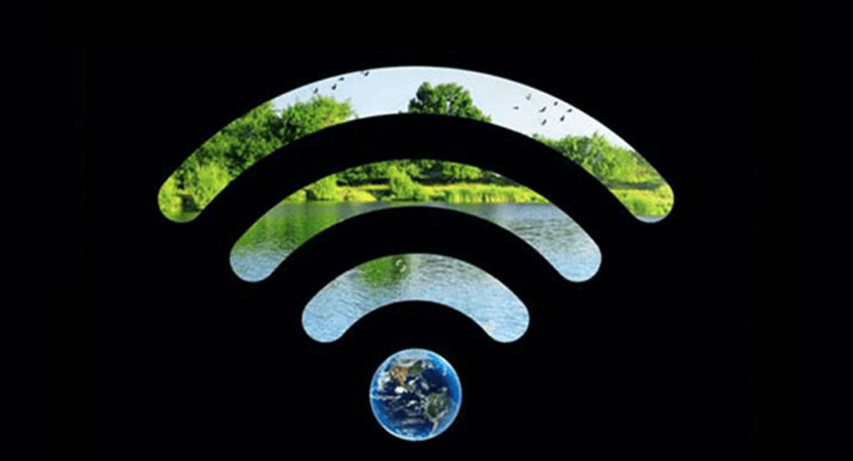 WiFi-logo voor Earth Hour 2020.