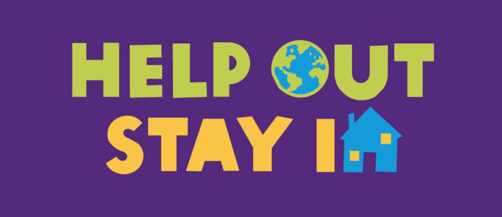 Campagneslogan van Oxfam Solidariteit: 'Help out, stay in'