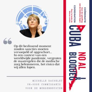 Oproep Bachelet
