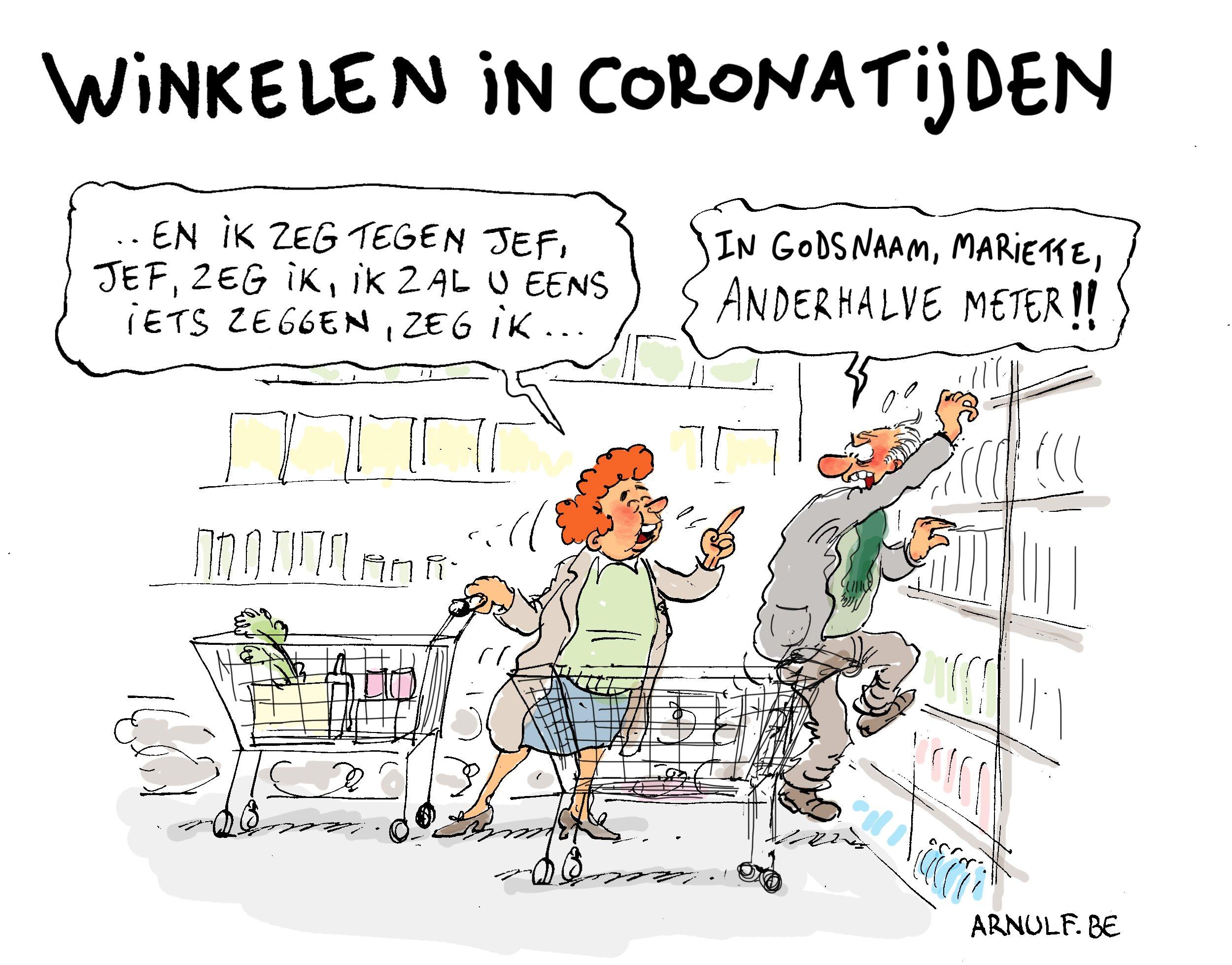 Winkelen in coronatijden