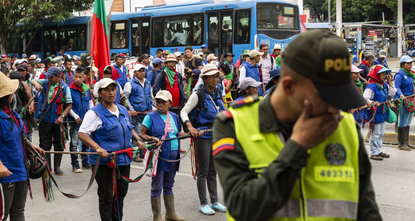 Colombiaanse veiligheidsdiensten viseren mensenrechtenverdedigers