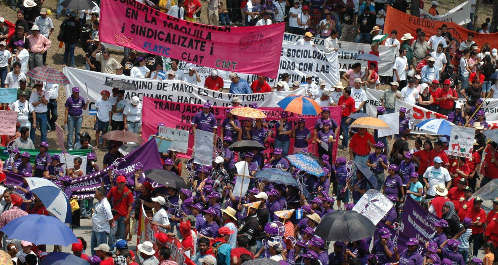 Is betogen terrorisme? De regering van Honduras vindt van wel