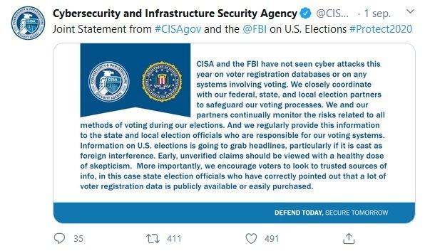 Nog meer twijfel over Russische hack narratief Amerikaanse kiezersdatabases op dark web