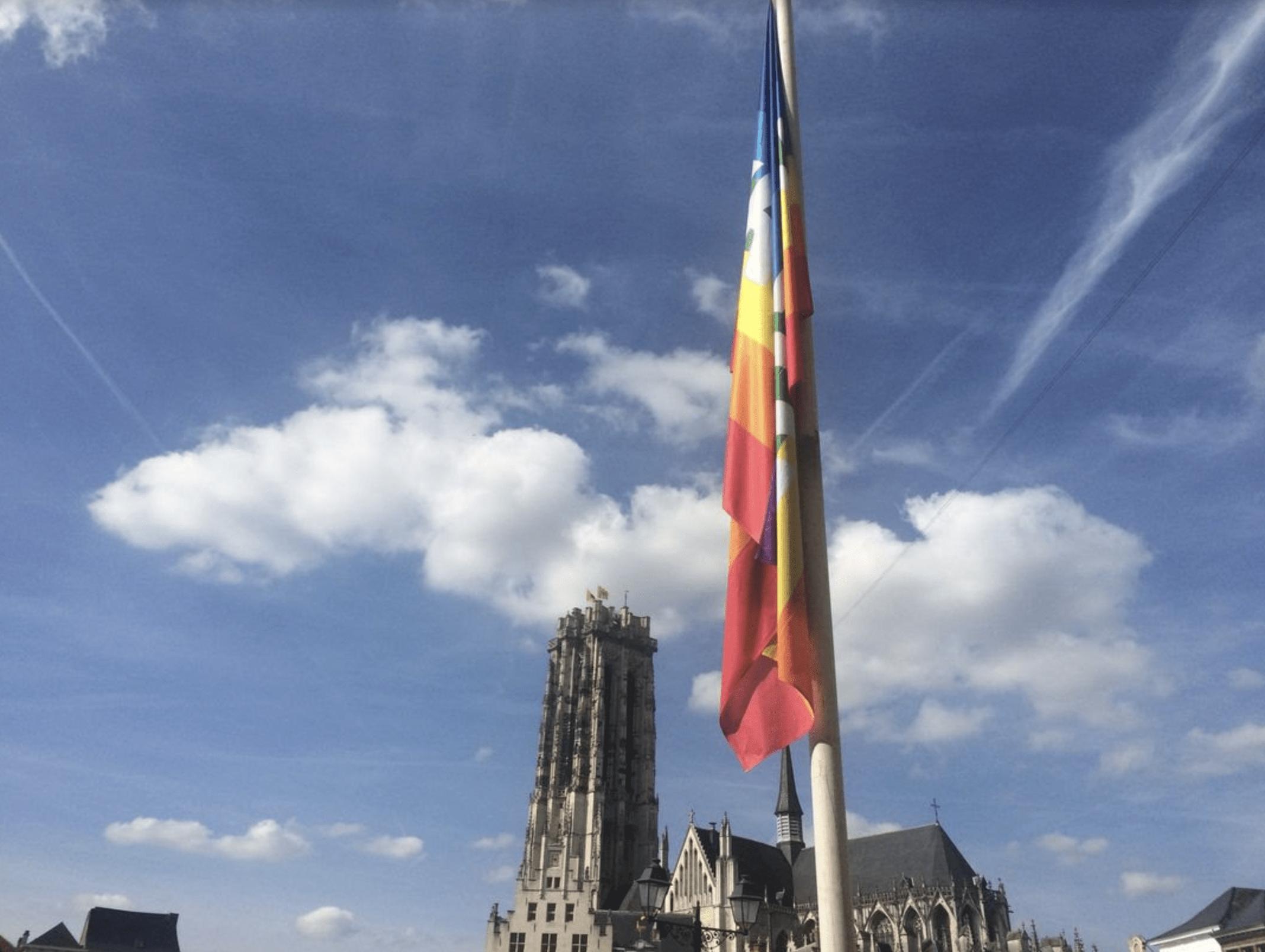 Internationale Dag van de Vrede. Mechelen