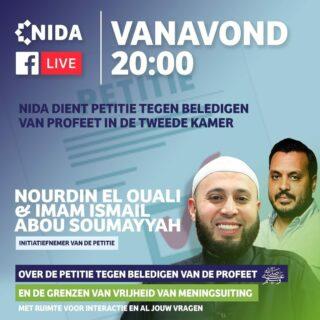 Nederlandse moslimorganisatie NIDA haalde 120.000 handtekeningen binnen in actie tegen blasfemie