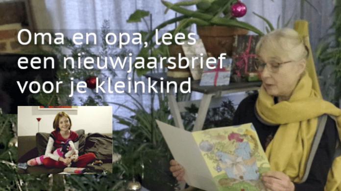 Oma en Opa, schrijf je kleinkind een Nieuwjaarsbrief