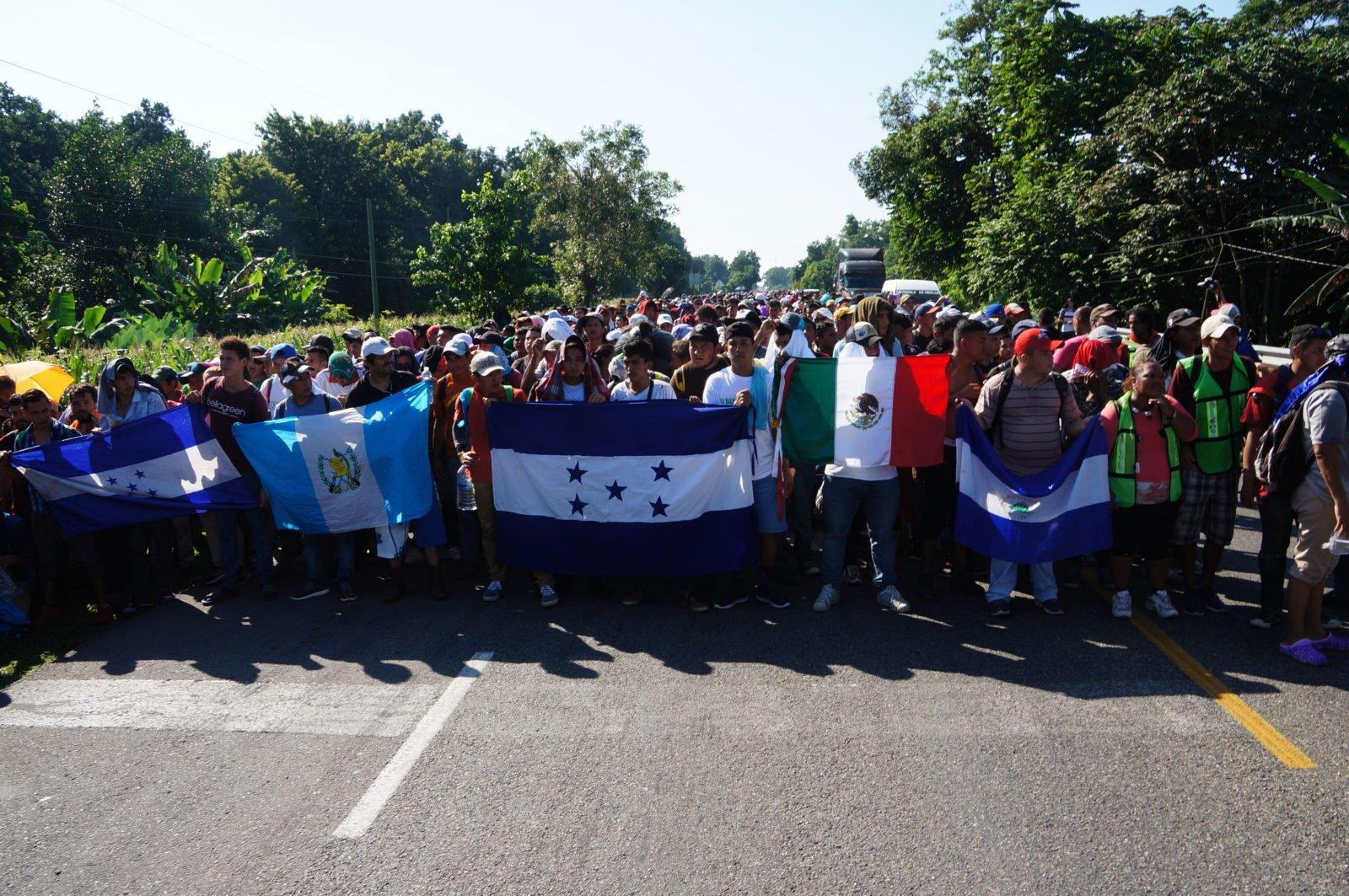 Analyse: Centraal-Amerikanen van de regen in de drop