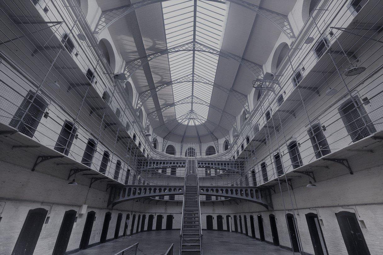 centrale hal van een gevangenis