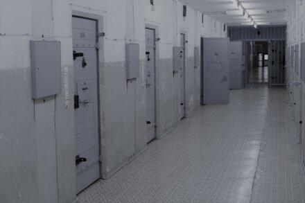 kille gang in een gevangenis