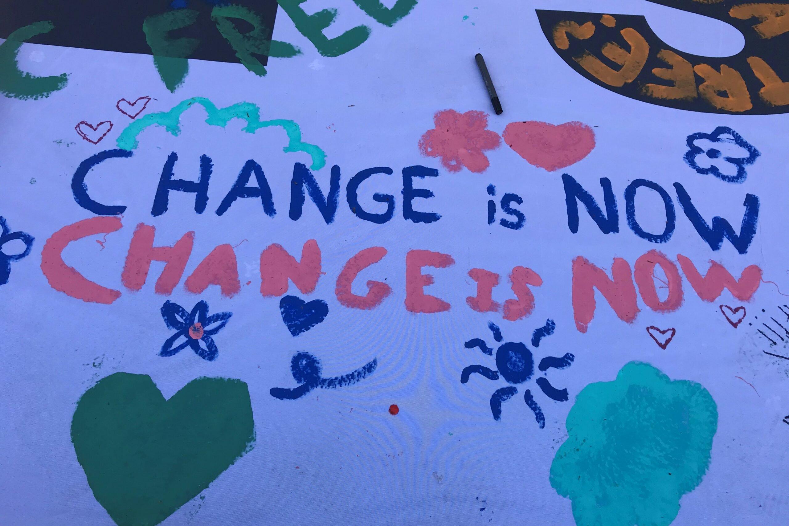 change is now geverfd op banner