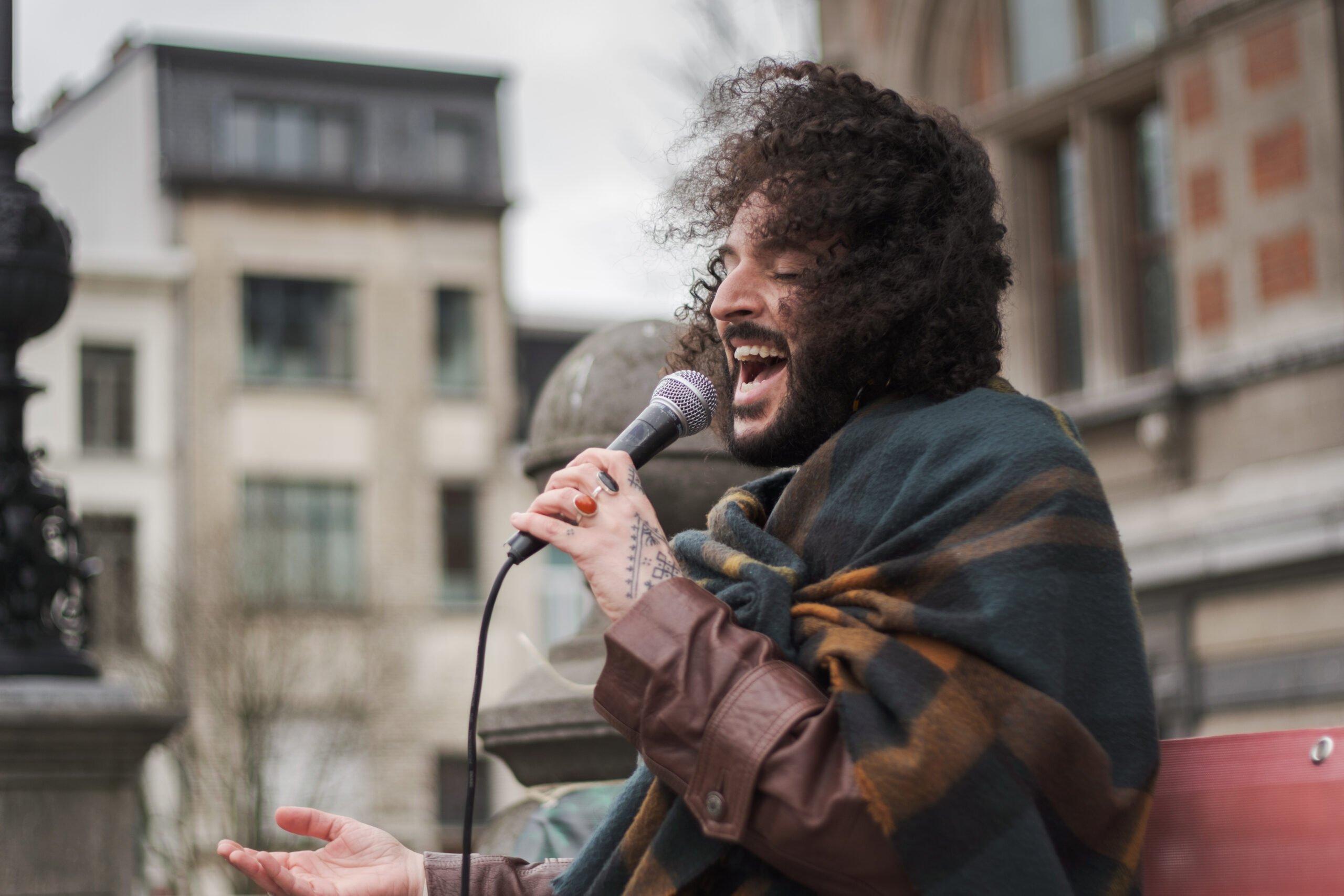 Performance Jaouad Alloul internationale dag tegen racisme