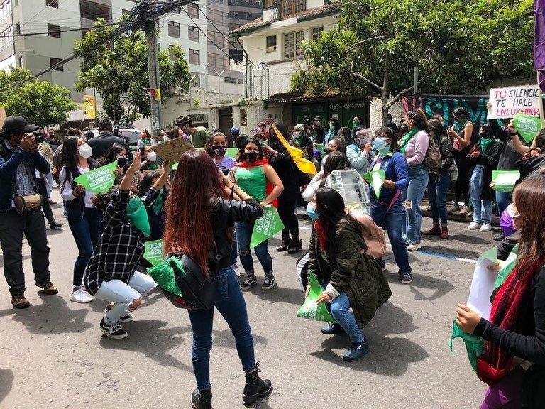 Abortus na verkrachting is voortaan legaal in Ecuador
