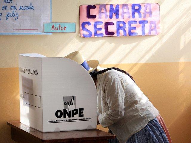 Peruaanse verkiezingen: sprookje van 7 dwergjes