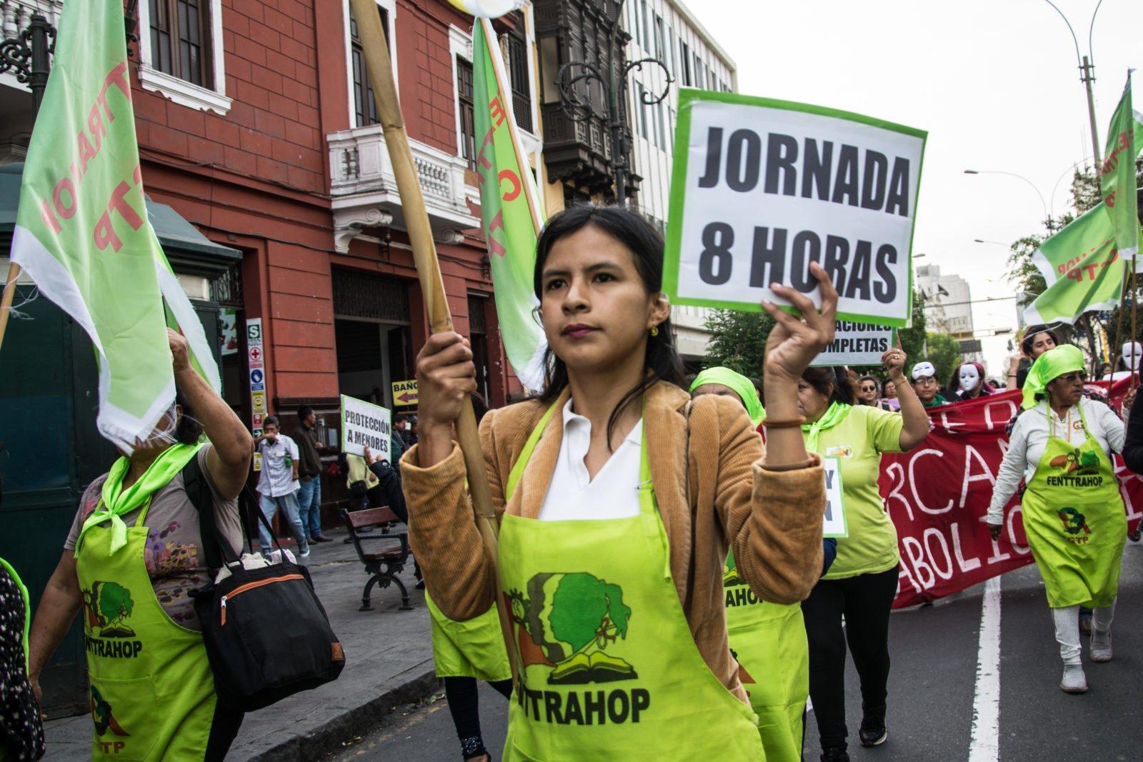 Vakbonden voor waardig huishoudwerk: Samen sterk