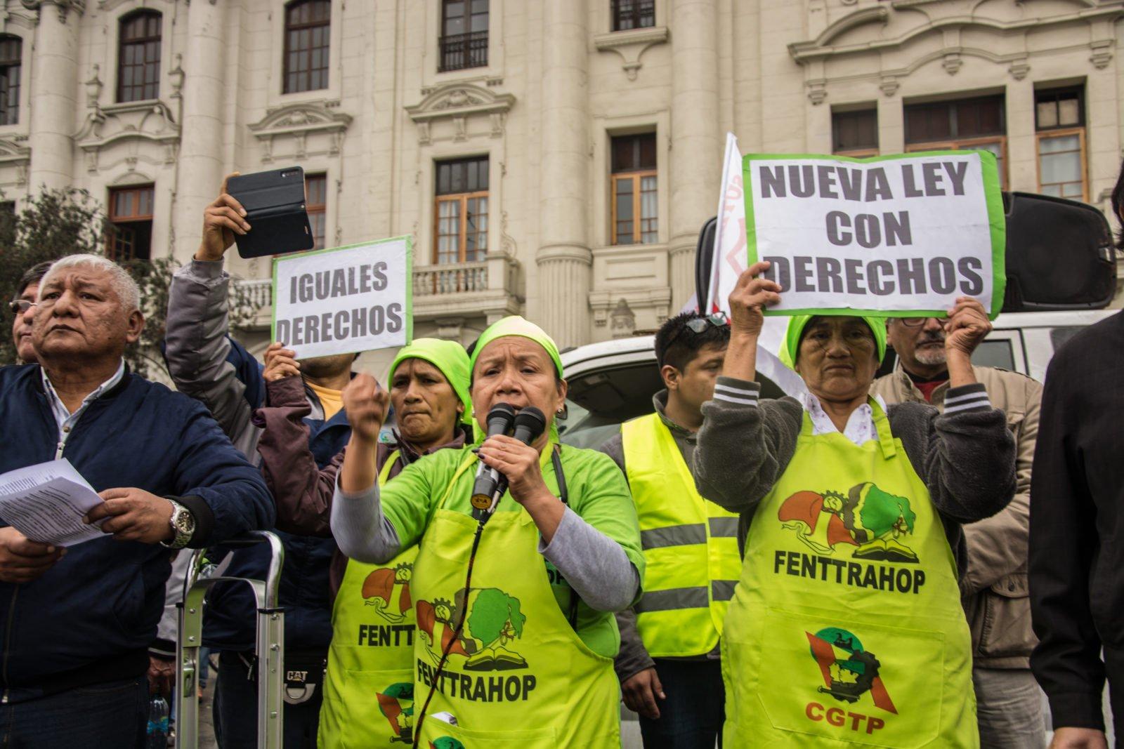 """""""Huishoudwerkers zijn ook arbeiders met rechten"""""""