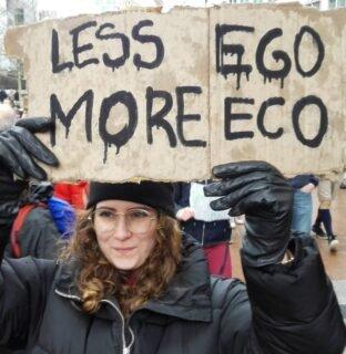 Less ego more eco