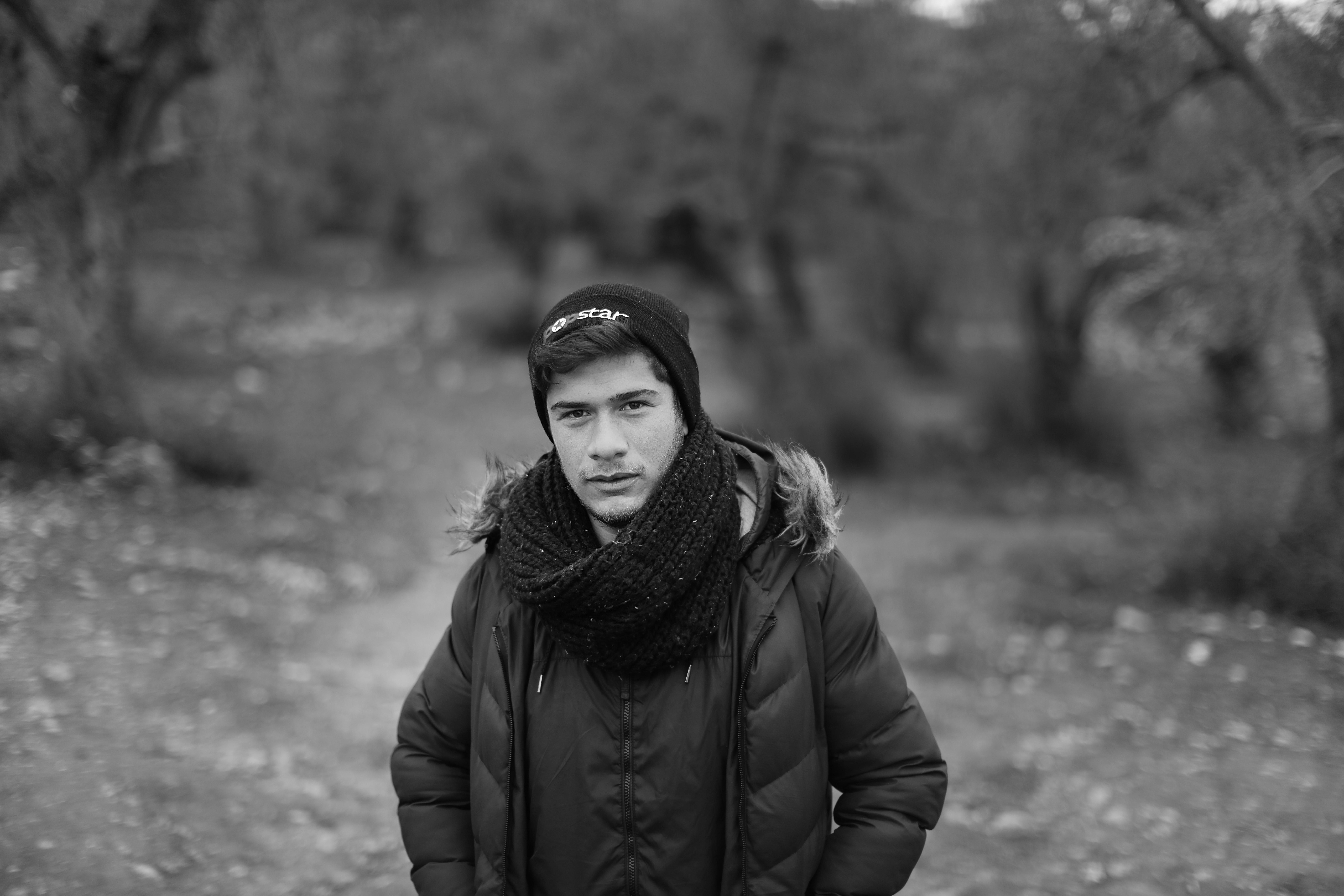 Osama (17) is uit Syrië gevlucht.