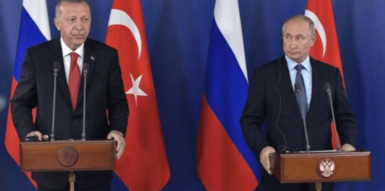 Erdogan en Putin.