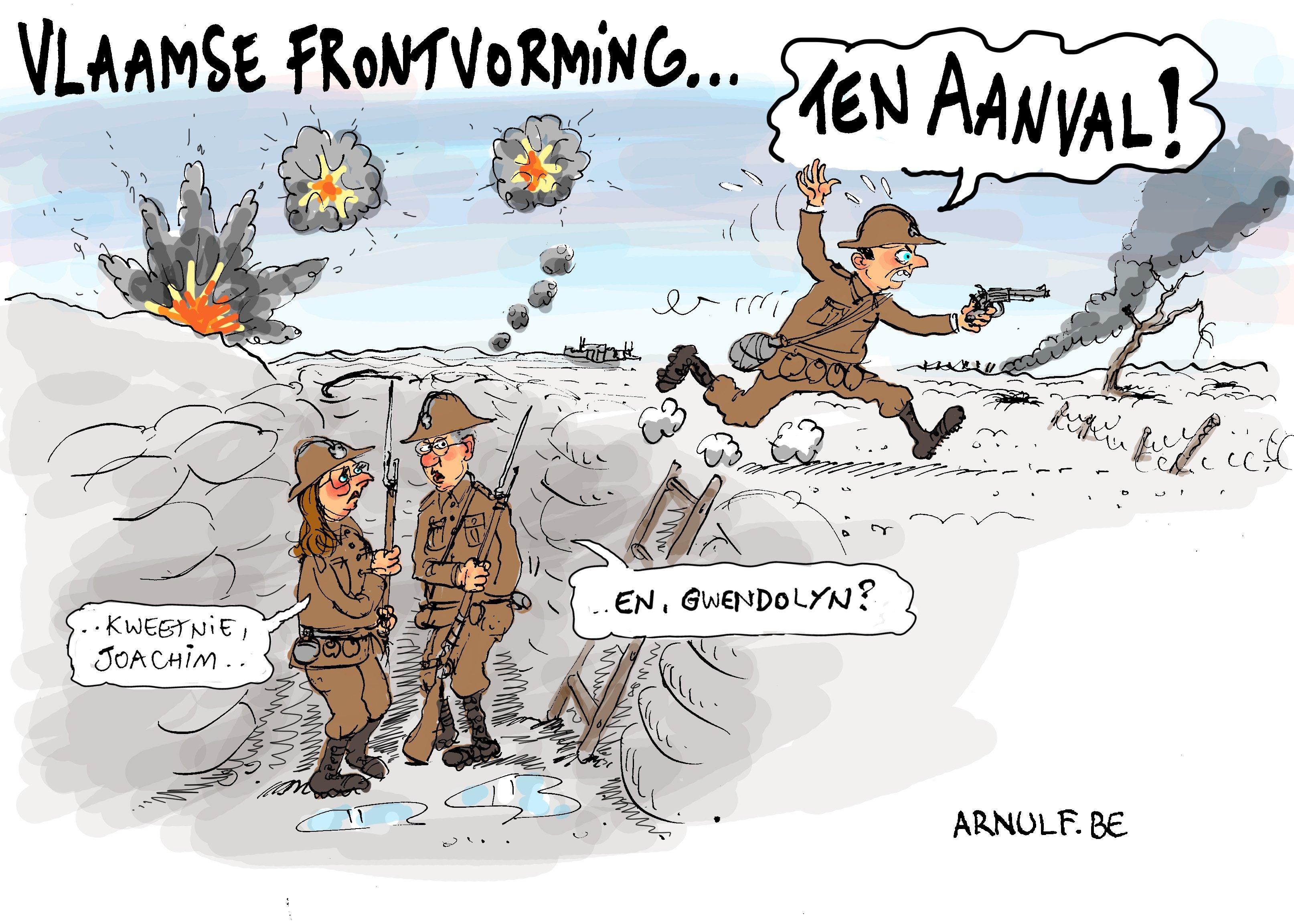 Vlaamse frontvorming